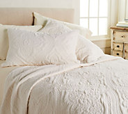 Inspire Me! Home Decor Twin 3 Piece Embroidered Luxe Quilt Set - H213025