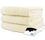 Biddeford Microplush Twin Size Heated Blanket - H282425