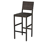 Home Styles Riviera Outdoor Woven Bar Stool - H282625