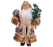 15 Woodsy Santa by Santas Workshop - H286425
