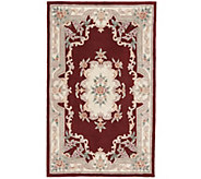 Rugs America New Aubusson 8 x 11 Wool Accent Rug - H287325