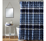 Lambert Tie Dye Shower Curtain by Lush Decor - H287625