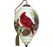 3.00 Christmas Cardinal Ornament by NeQwa - H294225