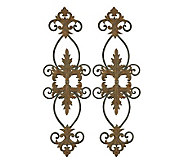 Lacole Metal Wall Art Set by Uttermost - H141326