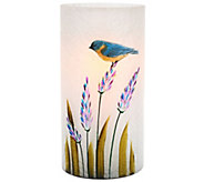 Candle Impressions 7 Hand Painted Luminary Vase - H204526