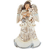 Jim Shore Heartwood Creek White Woodland Angel Figurine - H211926