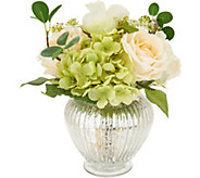10 Floral Arrangement w/ Illuminated Base by Valerie - H213726
