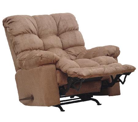 Catnapper magnum saddle chaise rocker reclinerheat for Catnapper magnum chaise recliner
