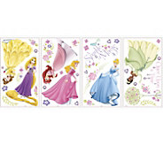 RoomMates Disney Glow Princess Peel & Stick Wall Decals - H291526