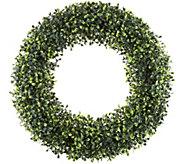 Pure Garden 19-1/2 Boxwood Round Wreath - H292126