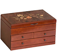 Mele & Co. Fairhaven Wooden Jewelry Box - H294526