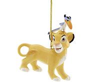 Lenox Simba and Zazu Ornament - H294626