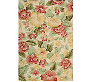 Nourison Botanical 23 x 8 Edith Blooms Handhooked Rug - H350126