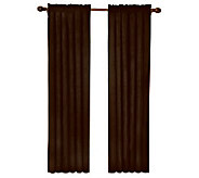 Eclipse 42 x 63 Sueded Blackout Window Curtain Panel - H367526