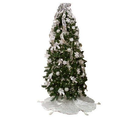 Simplicitree 7 1 2 39 Prelit Pre Decorated Christmas Tree W