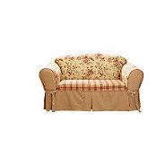 Sure Fit Lexington Love Seat Slipcover - H149827