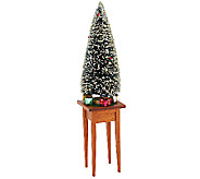 Byers Choice 13 Christmas Tree with Table and Presents - H200727