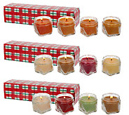 12-piece 1.65 oz. Candle Sampler by Valerie - H207027