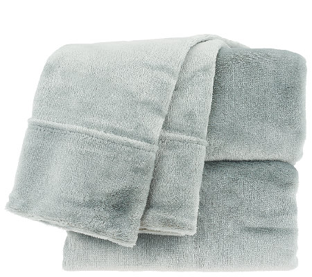 Berkshire Blanket Velvet Soft Qn Cozy Sheet Set H207227