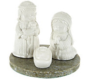 Connemara Marble Ceramic Nativity Scene - H209027