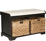 Safavieh Freddy Wicker Storage Bench - H209727