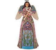 Jim Shore Heartwood Creek Spring Lily Angel Figurine - H214527