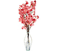 Choice of Blossom Stems in Luster Glass Vase by Peony - H214827