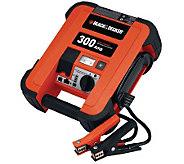 Black & Decker 300-Amp Jump Starter - H281427
