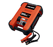 Black & Decker 500/1000 AMP Heavy Duty Jump Starter with Light - H284027