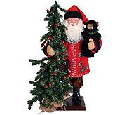 20 Pine Cone Santa and Tree by Santas Workshop - H286427