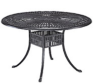 Home Styles Largo 48 Inch Round Outdoor DiningTable - H286927