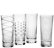 Mikasa Set of 4 Highball Glasses - Cheers Collection - H289227