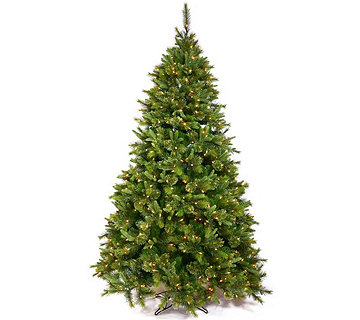 12' Cashmere Pine Tree with Warm White LED Lights by Vickerman - H289827