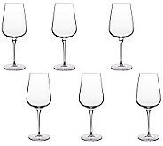 Luigi Bormioli 25-oz Intenso Red Wine Glasses -Set of 6 - H364827