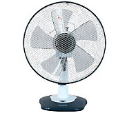 Optimus 12 Oscillating Table Fan with Soft-Touch Switch - H368027