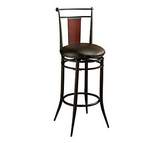 Hillsdale Furniture Midtown Swivel Wood Back Counter Stool
