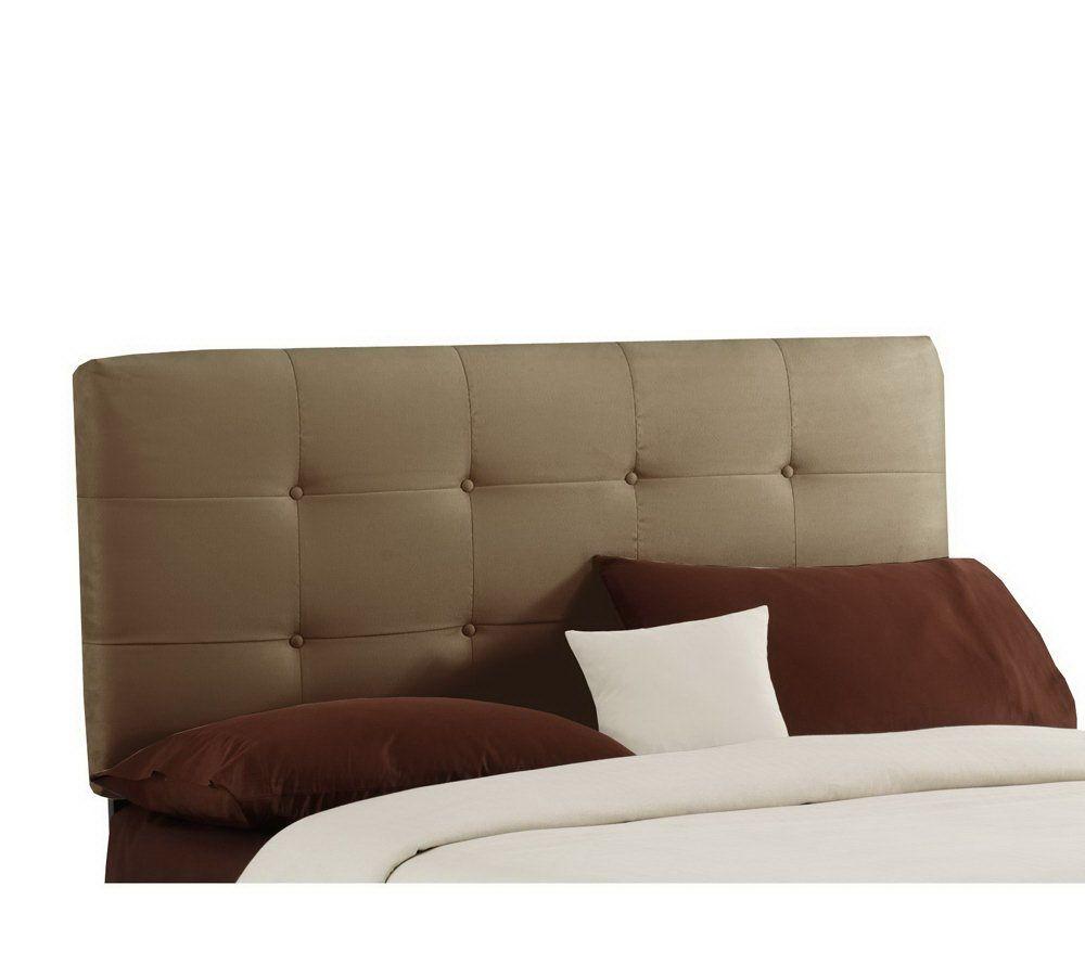 canada queen home en in velvet headboard white skyline p upholstered furniture the depot