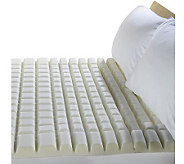 PedicSolutions 2.5 Twin Geo-Max Memory Foam Topper - H170328