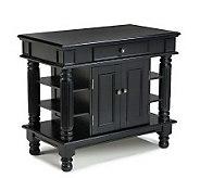 Home Styles Kitchen Island w/ Shelves - H170928