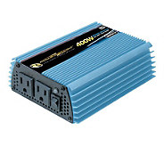 12 Volt DC to AC 400 Watt Power Inverter - H182728