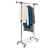 Honey-Can-Do Garment Rack - Commercial Chrome - H184028
