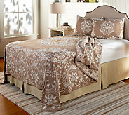 Opulence Jacquard 100Cotton Bedspread with Sham(s) - H205628
