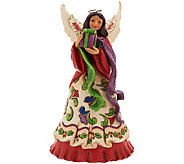 Jim Shore Heatwood Creek 10 1/4 Angel With Presents Figurine - H205728