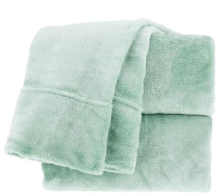 Berkshire Blanket Velvet Soft Kg Cozy Sheet Set Page 1
