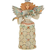 Jim Shore Rivers End Collection Seashell Angel Figurine - H212228