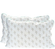 Ships 12/4 MyPillow Classic Set/ 2 Std/Qn Pillows w Color Cording - H215428