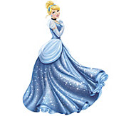 RoomMates Disney Princess Cinderella Peel & Stick Wall Decal - H291528