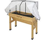 VegTrug Small Wall Hugger Greenhouse Frame & Cover - H291628