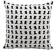 Mina Victory 18 x 18 Polyester Throw Pillow - H366928