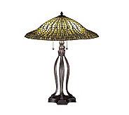 Tiffany Style 30 Lotus Leaf Table Lamp - H122429